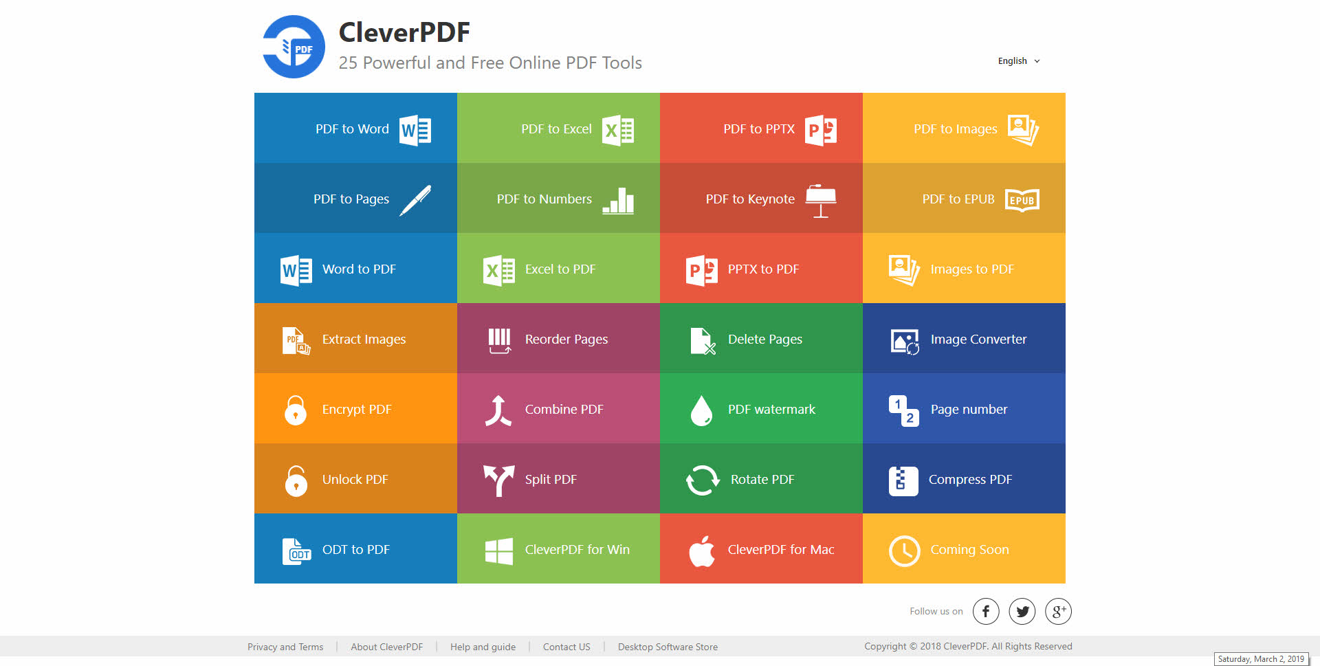 Image result for cleverpdf mac screenshot