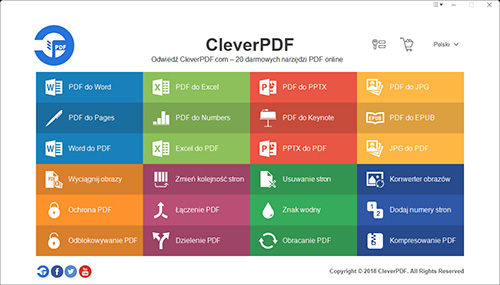CleverPDF for Windows screenshot
